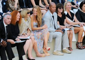 blake lively, anna wintour, chanel, runway